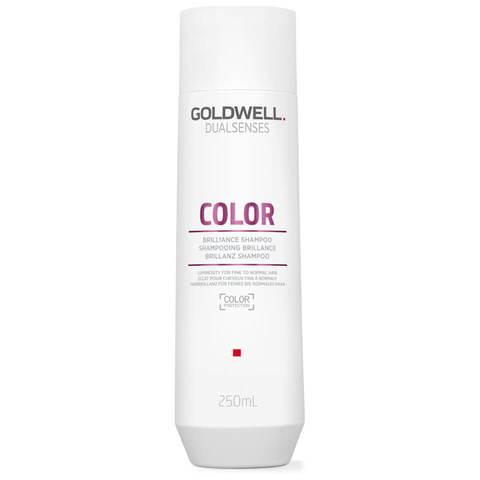 Шампунь для блеска окрашенных волос, Goldwell Dualsenses Color Brilliance Shampoo, 250 мл.