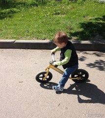 Беговел EcoBalance NEXT, сверхлегкий, 1,9 кг, золотой ребенок