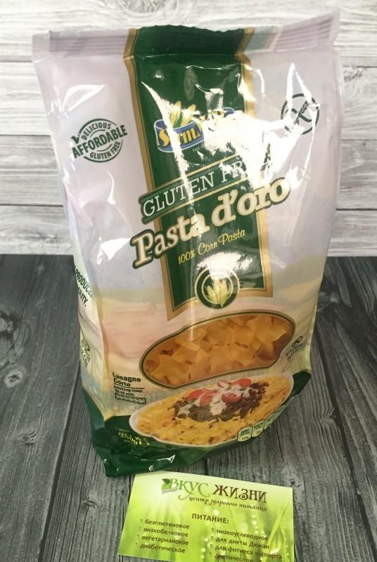Макароны Pasta Doro Лазаньетте из кукуруз муки 500г