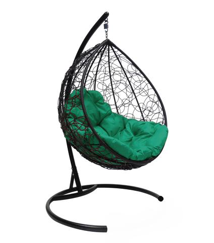 Кресло подвесное Lagos black/green