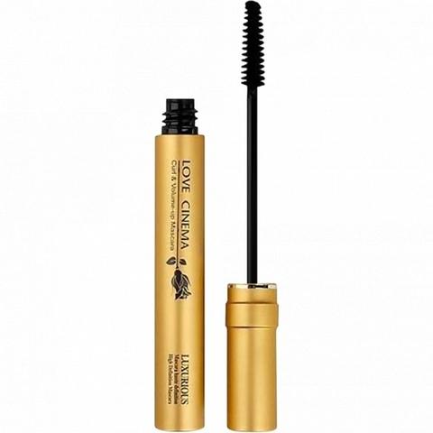 Тушь для ресниц 3W Clinic Love Cinema Curl&Volume Up Mascara Waterproof Type Gold