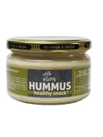 Хумус С оливками, 200гр. (Полезные продукты)