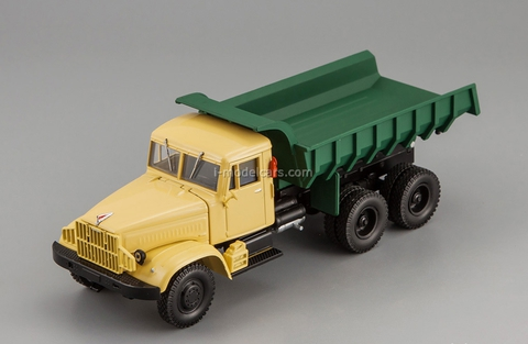 KRAZ-256B dump 1966-1969 yellow-green 1:43 Nash Avtoprom