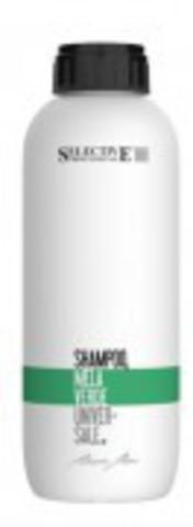 Шампунь для всех типов волос зеленое яблоко SELECTIVE MELLA VERDE,1000 мл.