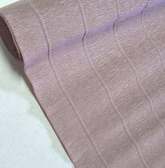 Гофрированная бумага однотонная. Цвет 604 кварцевый, 180 г