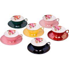 Чайный набор из фарфора на 6 персон 275-913