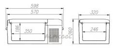 Купить Компрессорный автохолодильник Alpicool ACS-15 от производителя недорого.