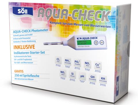 Фотометр в комплекте с реагентами для определения качества воды по 10-ти показателям Aqua-Check, Komplettrset