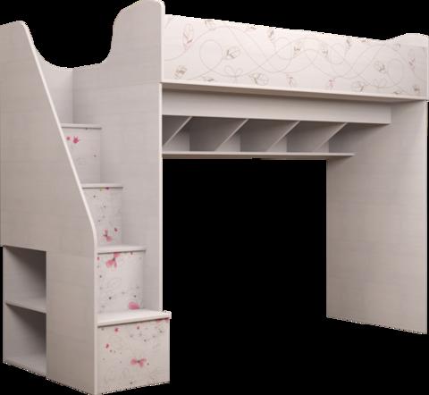 Комплекс универсальный с лестницей Принцесса 18 Ижмебель лиственница сибио
