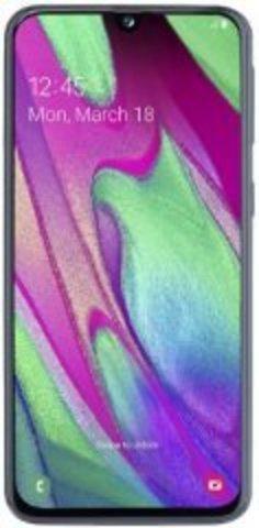 Смартфон Samsung A405 Galaxy A40 4/64Gb Black (EAC)