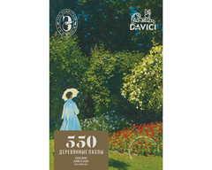 Дама в саду от DAVICI - Деревянные пазлы с деталями разных форм, картины, которые вы собираете сами