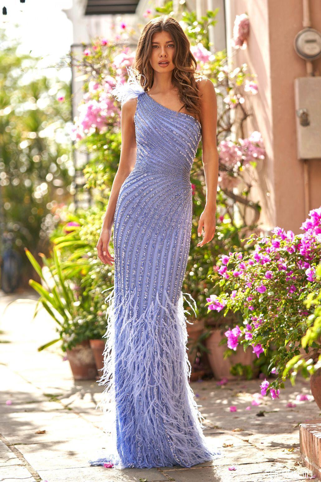 Длинное платье Sherri Hill 54395