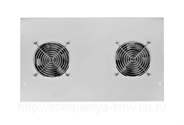 Вентиляторный блок без термостата (2 вентилятора), БВ-2: купить оптом в Москве по низкой цене