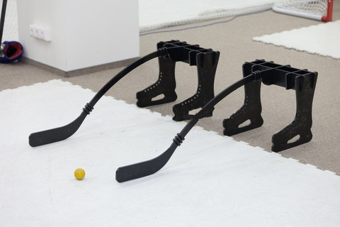 Тренажер хоккейный ИМИТАТОР ИГРОКА