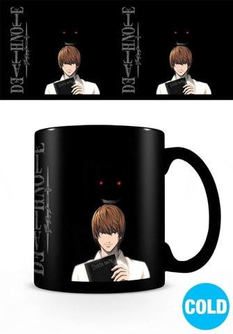 Кружка-хамелеон Death Note (Kira)