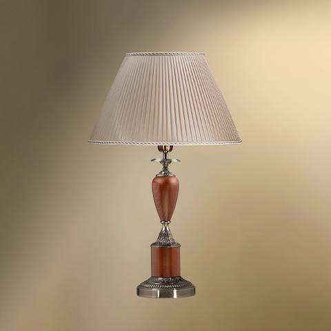 Настольная лампа с абажуром 38-08.56/3378 ТАМЕРЛАН