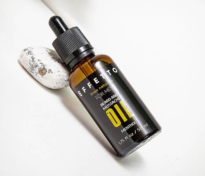 CARE138-3 Масло для роста бороды и усов EFFETTO «Ментол» (50 мл) фото 02