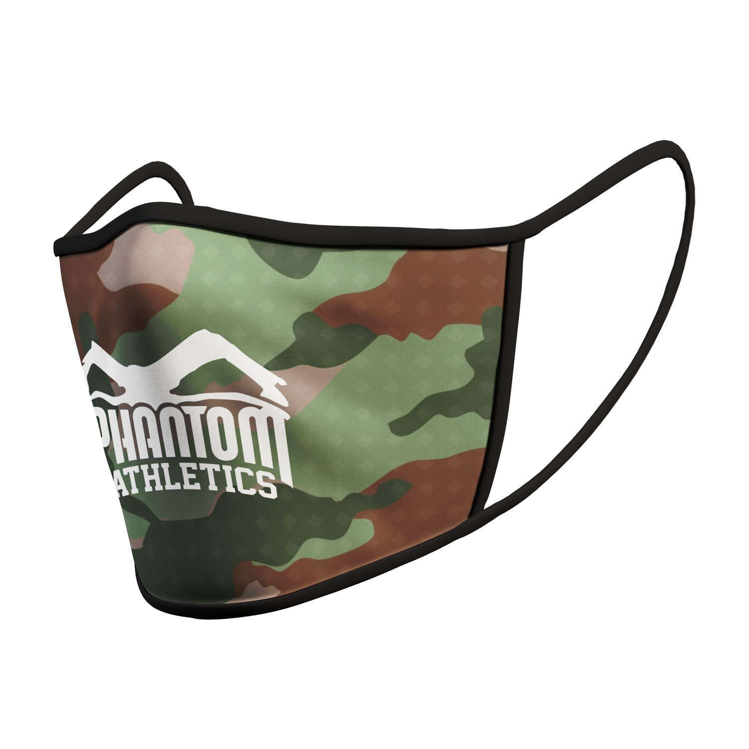 Маска для лица Phantom Athletics Facemask - Green Camo
