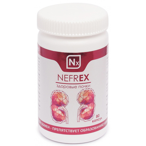 NEFREX Milamed, 80 капсул