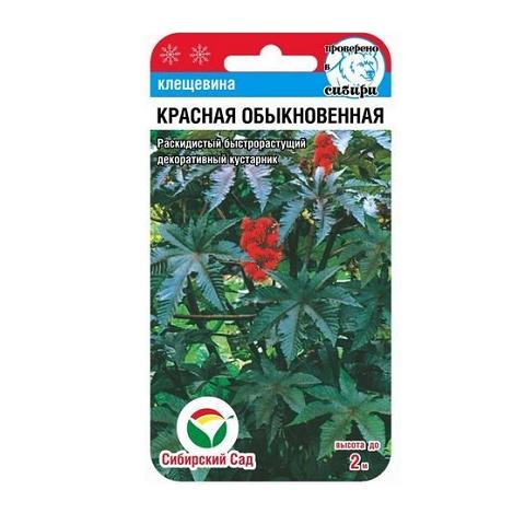Клещевина красная 5шт (Сиб сад)