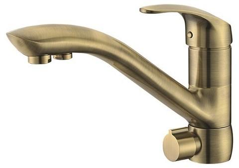 Смеситель KAISER Venus 39066-3 бронза для кухни под фильтр