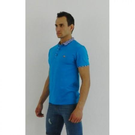 Мужская футболка поло голубая ETRO