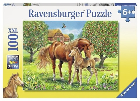 Puzzle Horses in the Field 100 pcs