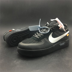 Off-White x Nike Air Force 1 Low 'Black'