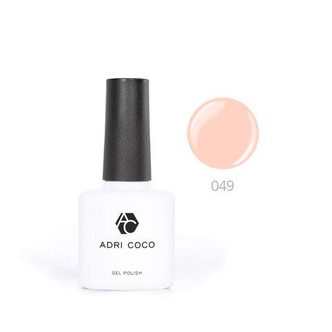Цветной гель-лак ADRICOCO №049 абрикосовый (8 мл.)