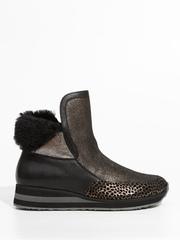 Замшевые ботинки Marzetti 7441621 с мехом