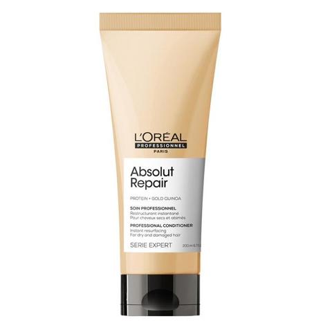 L'Oreal Professionnel Absolut Repair: Смываемый уход для поврежденных волос (Absolut Repair Conditioner), 200мл/750мл