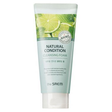 Очищающая Пенка (The Saem Natural Condition Cleansing Foam Sebum Contro L)