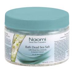 Соль Мертвого моря с экстрактом жасмина «NAOMI» 350 мл