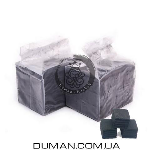 Натуральный кокосовый уголь Crown Airflow (Краун) для кальяна |0,5кг 36куб 25*25мм