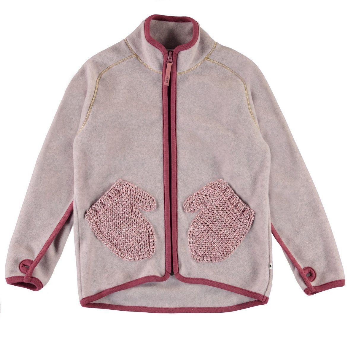 Куртка флисовая Molo Ushi Fair Pink