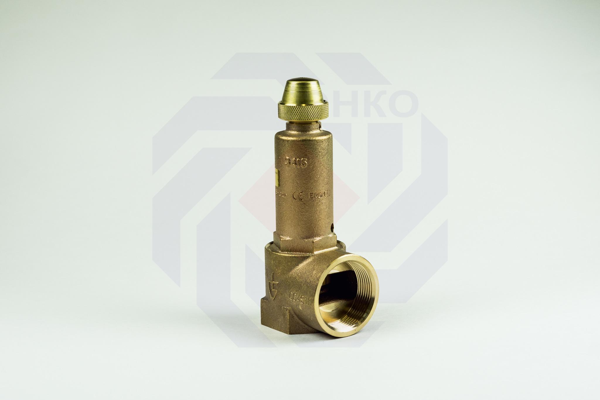 Клапан предохранительный GOETZE 651mWIK 8 бар 1½