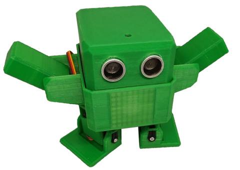 РОББО ОТТО — интерактивный танцующий робот-конструктор