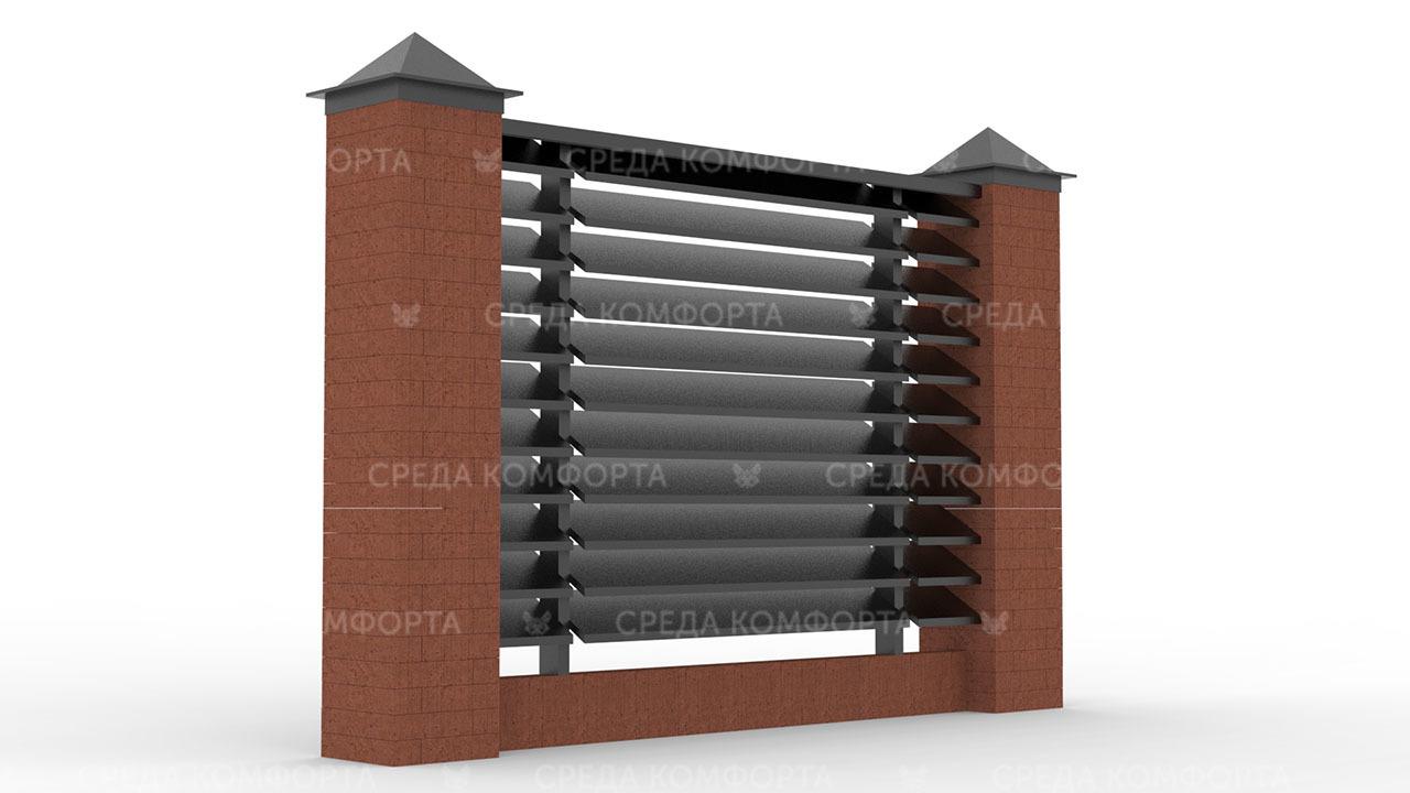 Забор жалюзи ZBR0118