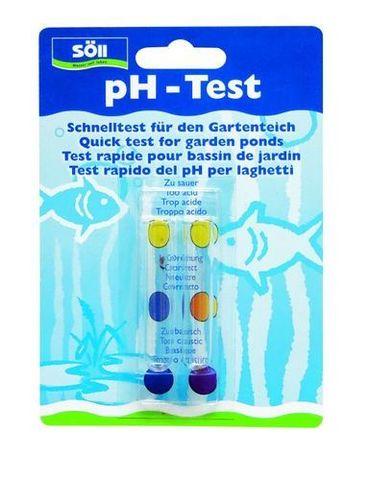 Тест для определения уровня PH в водоеме pH-Schnelltest  - Экспресс тест на pH