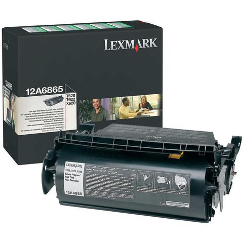 Оригинальный картридж Lexmark 12A6865 черный