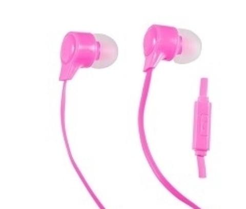 Наушники внутриканальные Perfeo HANDY розовые new