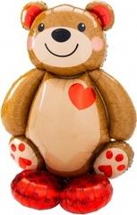 К Ходячая Фигура на подушке, Мишка с сердцем, 36