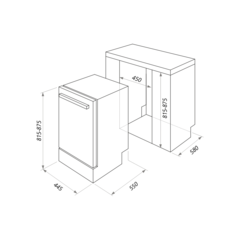 Посудомоечная машина Maunfeld MLP-08S схема