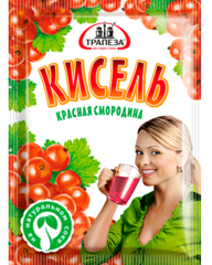 """Кисель """"Трапеза"""" Красная смородина 100г"""