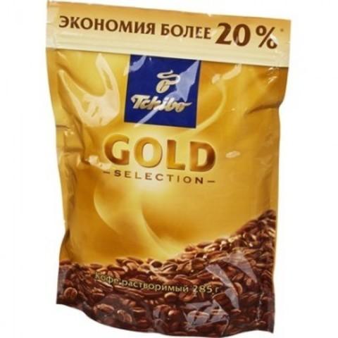 Кофе растворимый Tchibo Gold Selection 285 г (пакет)