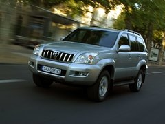 Чехлы на Toyota Land Cruiser Prado 120 2002–2009 г.в.