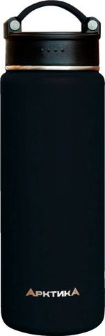 Термос Арктика (0,7 литра) с узким горлом, черный