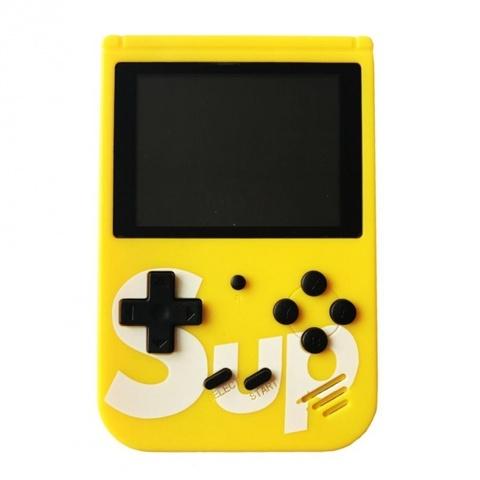 Портативная игровая консоль игра Sup Game Box 400 in1 Retro Game (Жёлтый)