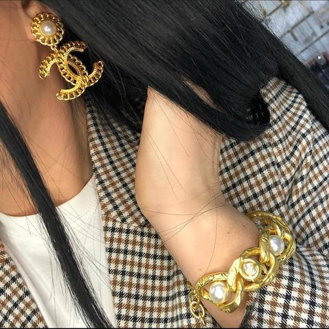 Браслет и серьги Chanel