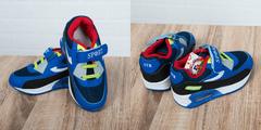 Обувь дет. № 7 Детские Кроссовки SPORT ATR Красно-синии